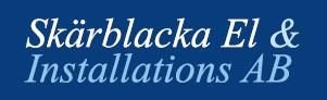 Skärblacka el Logotyp